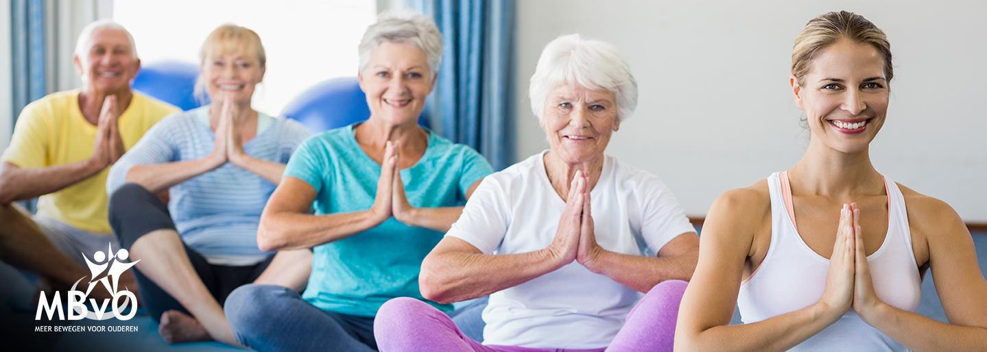 Meer Bewegen voor Ouderen (MBvO) biedt iedereen vanaf 55 jaar bewegingsprogramma's die het fysieke, psychologische en sociale welzijn bevorderen.