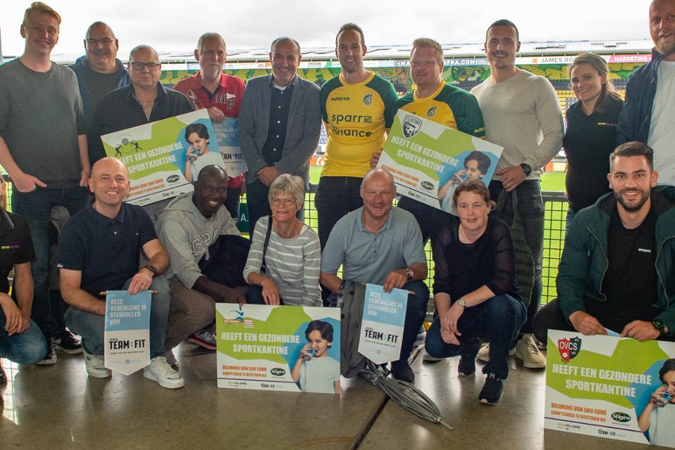 Vier Sittard-Geleense sportverenigingen behalen het Team:Fit certificaat