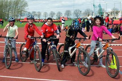 Bike mee met de Watersley Kids Challenge